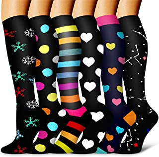 Laite Hebe Compression Socks Women & Men - Best for Running,Athletic Sports,Flight Travel