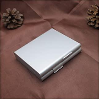 Exquisit Cigar Box, 1pcs Cigarette Case Smoking Accessories Metal Men Gift Tobacco Holder Pocket Box 9.28.22cm Cigar Stora...