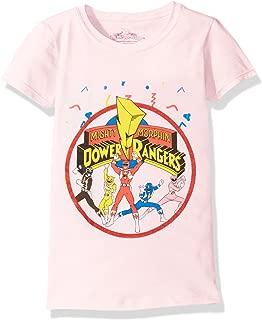 Power Rangers Girls' Ranger Cap Sleeve T-Shirt