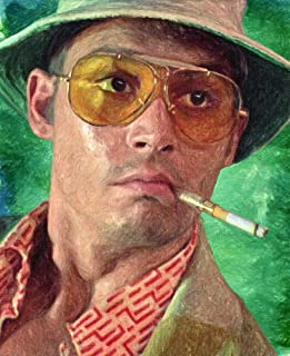 Zapista Fear and Loathing Painting Fine Art Print Unique Movie Artwork Poster Home Wall Decor Unframed (24.50