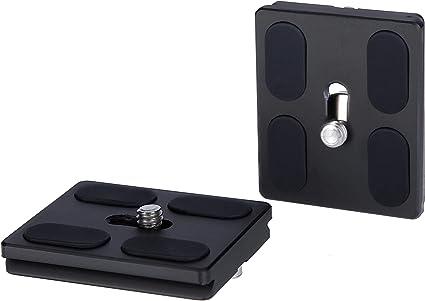 Rollei Schnellwechselplatte I 2 Stück I Metallic Kamera