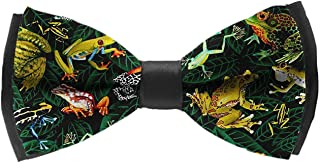 Casual and Formal Pre-Tied Bow Tie, Music Festival Rave Party Butterfly Bow Tie