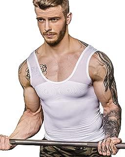 Men's Extreme Compression Shirt to Hide Gynecomastia Moobs Chest Body Slimming Undershirt Shapewear