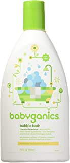 Babyganics Bubble Bath Chamomile Verbena 20 oz (Pack of 2)