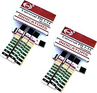 RETAIL SUPPLIES Full pH 1-14 Test Indicator Litmus Paper Water Soil Testing Kit -200 Strips