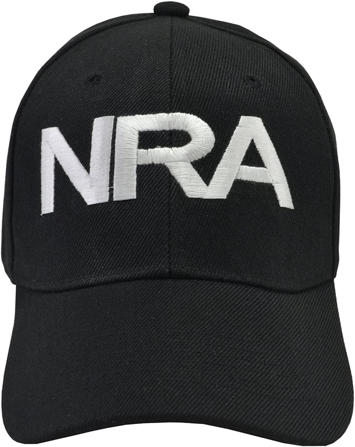 Incrediblegifts NRA Black Hat White Embroidered
