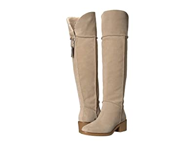 COACH Janelle Boot (Oat/Natural Mixed Material) Women