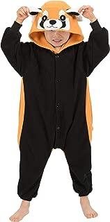 Unisex Child Pajama Plush Onesie One Piece Animal Costume Kids Fleece Pajamas