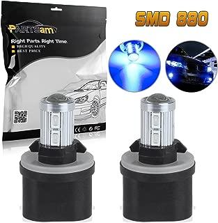 Partsam 2X 880 892 893 899 LED Bulbs Blue Fog Driving Lights Daytime Running Lamps Bulbs Ultra Bright Led Off Road