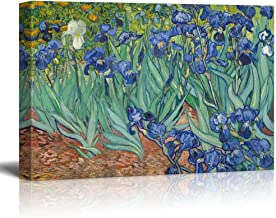 wall26 Irises by Vincent Van Gogh - Oil Painting Reproduction on Canvas Prints Wall Art, Ready to Hang - 24
