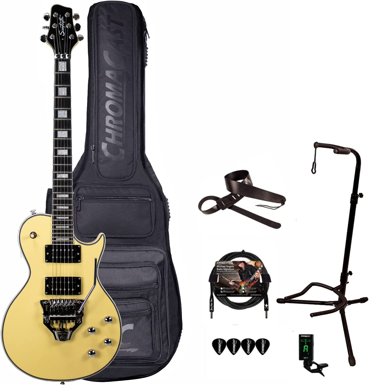 GoDpsMusic 6 String Sawtooth Heritage Floyd Guitar Low price 24 latest with Fret