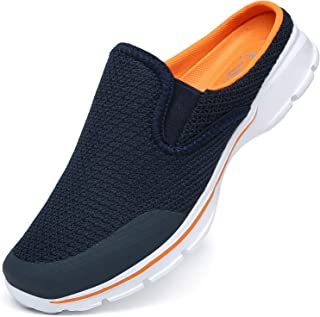 SMajong Garden Clogs Mens Womens Breathable Slippers Ladies Lightweight Home House Shoes Beach Sports Casual Sandals Non-S...