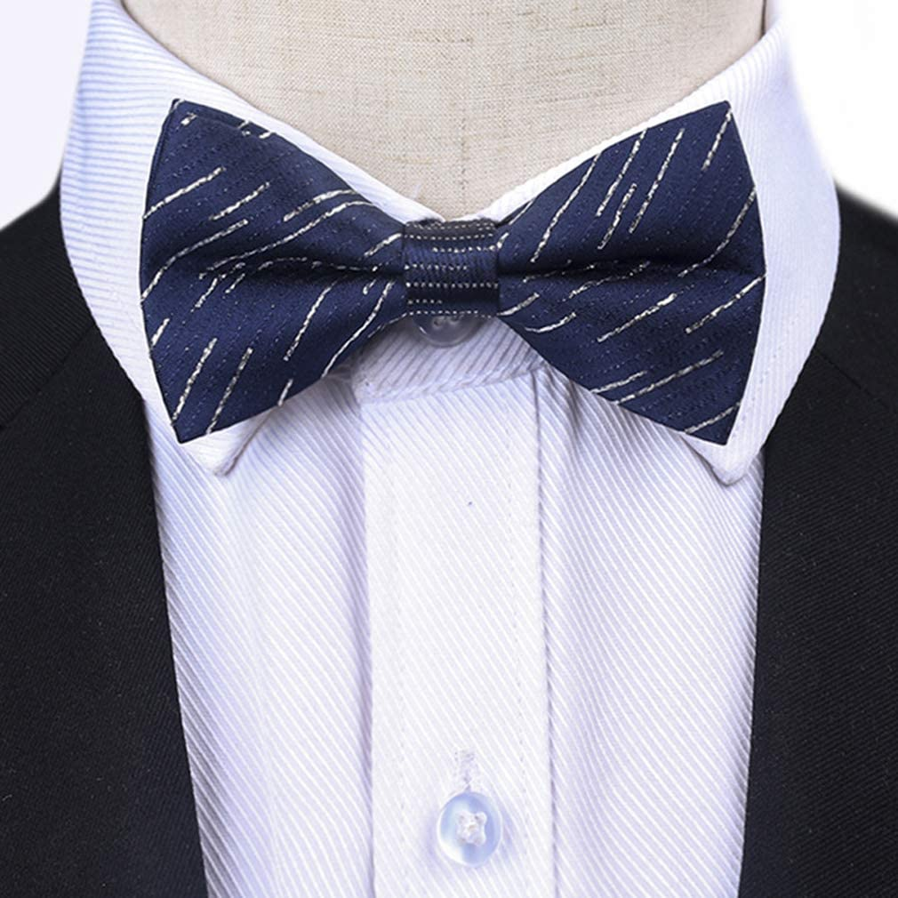 Eliffete Kid's Handmade Classic Pre-Tied Bow Tie Formal Tuxedo Bowties for Boys