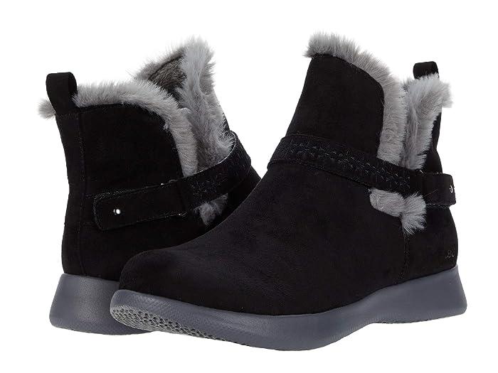 Vintage Boots- Winter Rain and Snow Boots History JBU Nomadic Black Womens Boots $54.50 AT vintagedancer.com