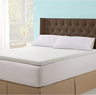 Soothing Cooling Gel Infused 2.5 Inch Ultra-Supportive and Body Cradling Memory Foam Mattress Topper with Removable and Washable Zippered Tencel Cover - Self Magazine Editors Choice Award - Queen - coolthings.us