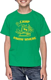 Camp Know Where '85 - Strange TV Show Youth T-Shirt
