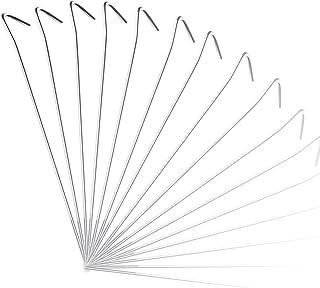 mumbi Unisex – volwassenen 31480 tentharingen, zilver, 230 x 4 mm