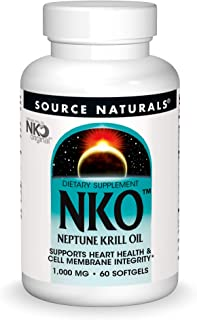 Neptune Krill Oil (NKO) 1000 mg 60 SoftGels