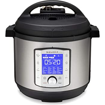 Instant Pot Duo Evo Plus Pressure Cooker 9 in 1, 8 Qt, Easy Grip Handles