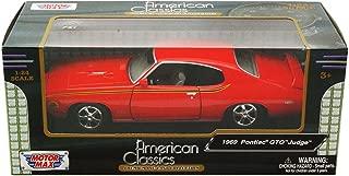 Pontiac GTO Judge, orange , 1969, Model Car, Ready-made, Motormax 1:24