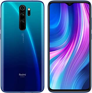 XIAOMI Redmi Note 8 Pro Dual SIM - 6GB RAM, 64GB ROM, 4G LTE, International Version - Ocean Blue