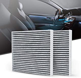 KAFEEK Cabin Air Filter Fits CF11671,68318365AA, 68406048AA, EG21-61-P11, Replacement for RAM 1500 2500 3500 4500 5500 /Mazda CX-7, Includes Activated Carbon (2-Pack)