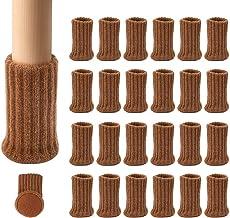 Ezprotekt 24 STKS Stoel Sokken Hoge Elastische Vloerbeschermers Antislip Stoel Been Voeten Sokken Covers Meubelcaps Set, F...