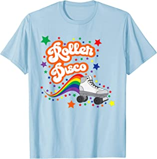 Roller Disco Cool Retro 70s and 80s party T-shirt