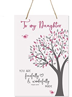 LifeSong Milestones Nursery Decor for My Son or Daughter - Girls and Boys Happy Birthday Wishes Gift Ideas Fearfully & Won...
