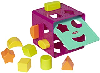 PLAYSKOOL Shape Sorter - Form Fitter - Baby and Toddler Educational Toys - Ages 18 Months+