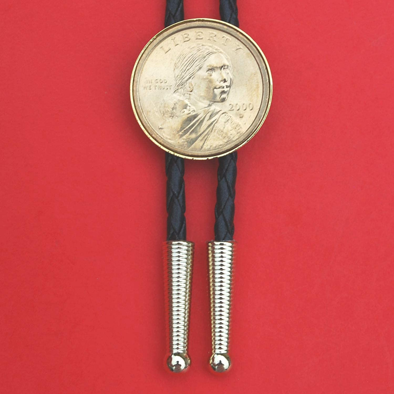 US 2000 Sacagawea Dollar BU Unc Leat Slide Coin New popularity Fort Worth Mall black Simple 36