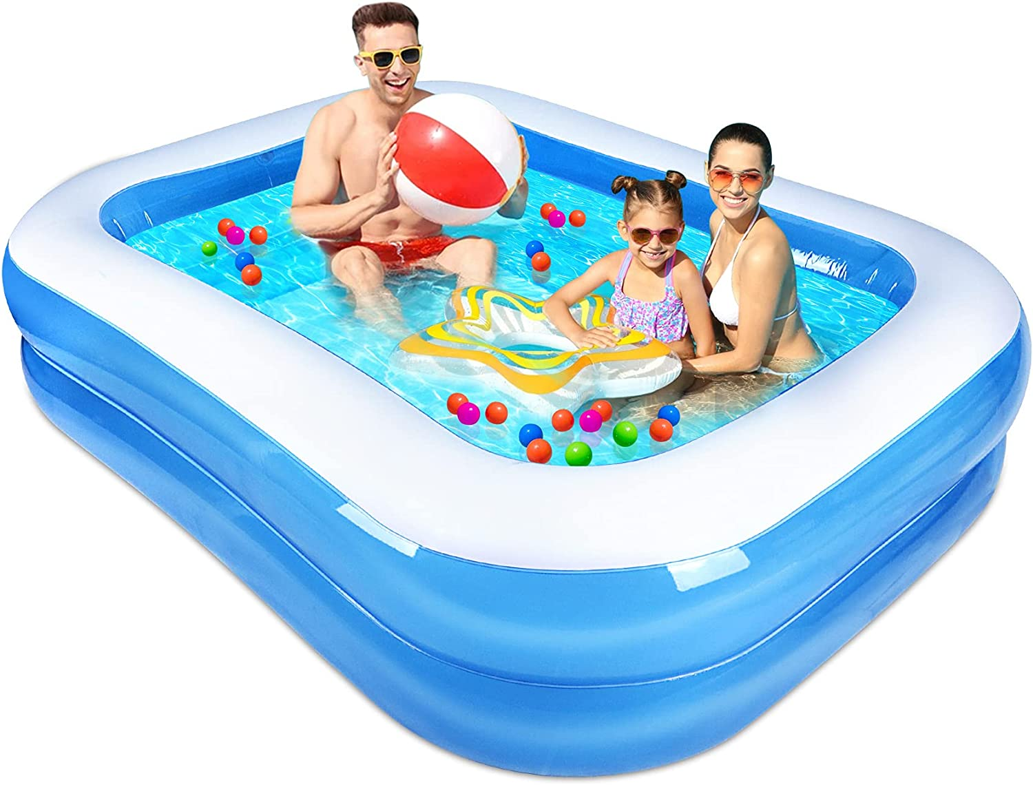 Apsung 人気ブレゼント Inflatable Swimming Pool 新作製品、世界最高品質人気! Family for Blow Kiddie Up