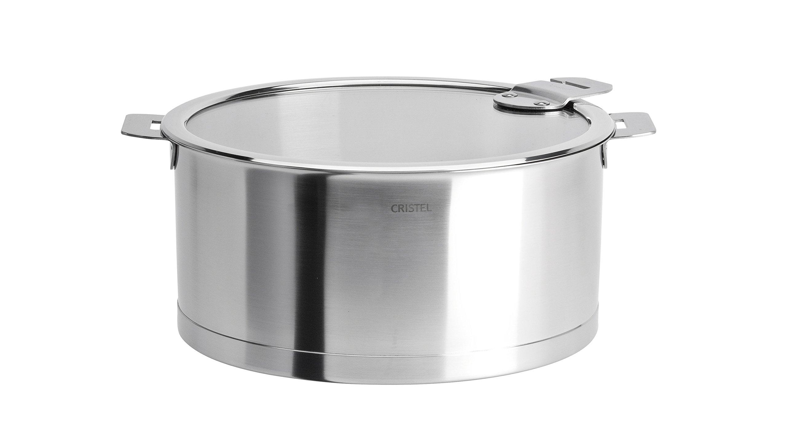 Cristel Strate C14QLKSA Saucepan Silver