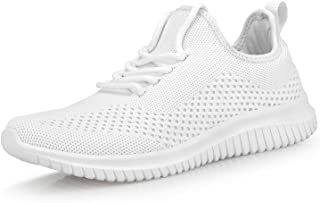 Mens Breathable Fashion Walking Shoes-Non Slip Sneakers Lightweight Comfortable Mesh Casual Sneakers Sports Gym Athletic S...