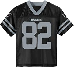 Outerstuff Jordy Nelson Oakland Raiders #82 Black Toddler Home Player Jersey