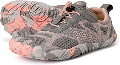 Joomra Women's Barefoot Running Shoes Size 7. 5-8 الحد الأدنى للسيدات عداء يومي رياضي المشي لمسافات طويلة الرحلات، أحذية ر...