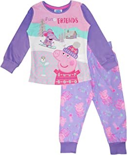 Peppa Pig Girls Cotton Pajama Set