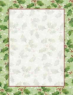 Jolly Holly Stationery - 80 Sheets