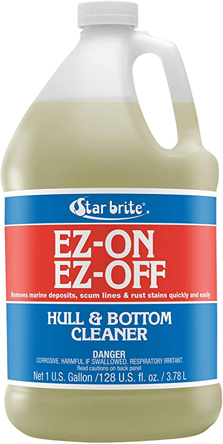 STAR BRITE EZ-ON EZ-Off Boat Hull & Bottom Cleaner - Remove Marine Deposits & Scum Line Quickly & Easily