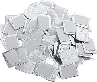 Kesoto 約100個 メイクアップパン 空パン アイシャドー ブラッシュ メイクアップ 磁気パレットボックスケース 2タイプ選べ - スクエア
