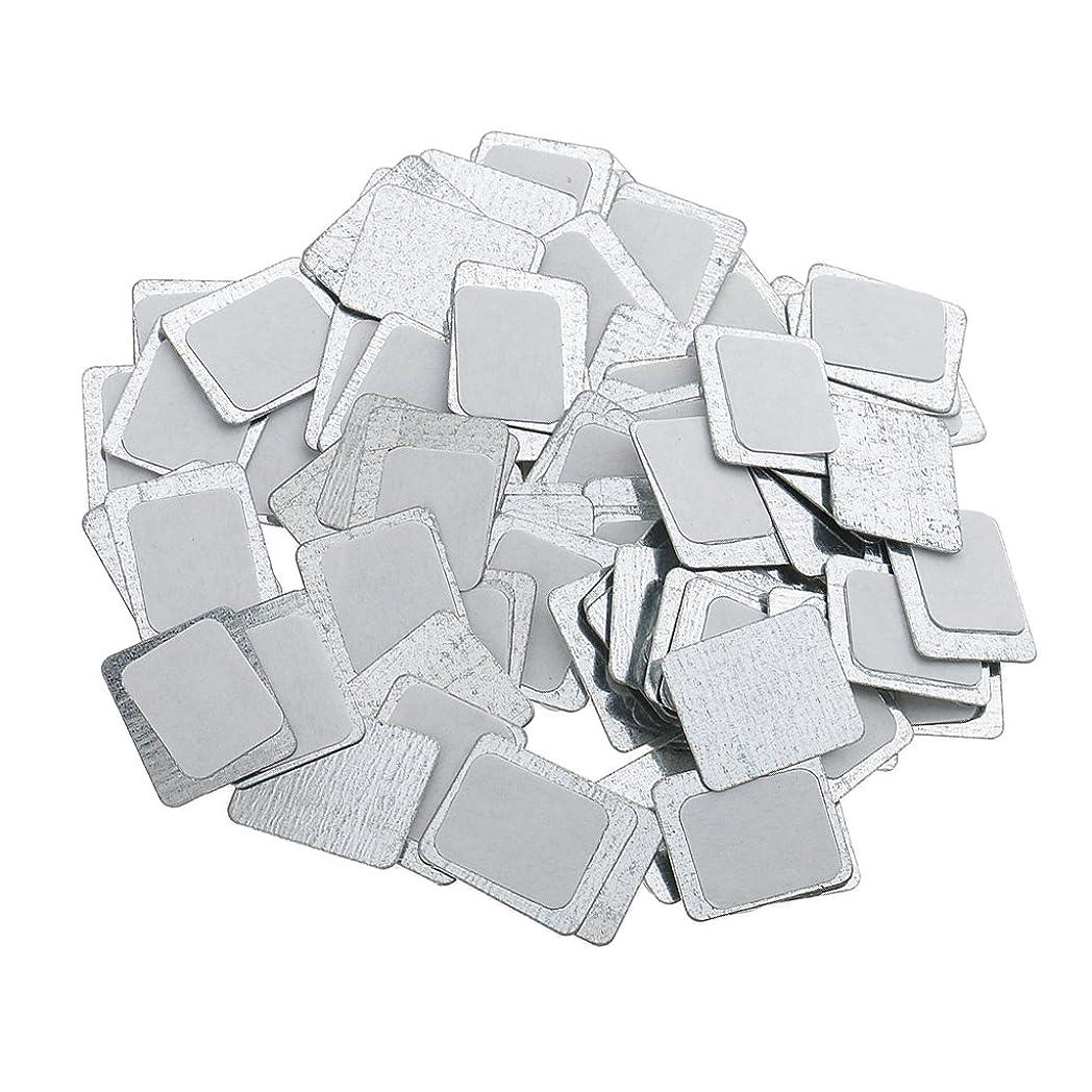 する多年生十分なKesoto 約100個 メイクアップパン 空パン アイシャドー ブラッシュ メイクアップ 磁気パレットボックスケース 2タイプ選べ - スクエア