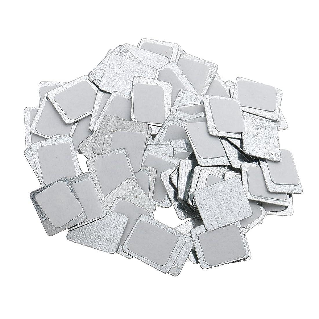 悲劇的な書店散髪Kesoto 約100個 メイクアップパン 空パン アイシャドー ブラッシュ メイクアップ 磁気パレットボックスケース 2タイプ選べ - スクエア