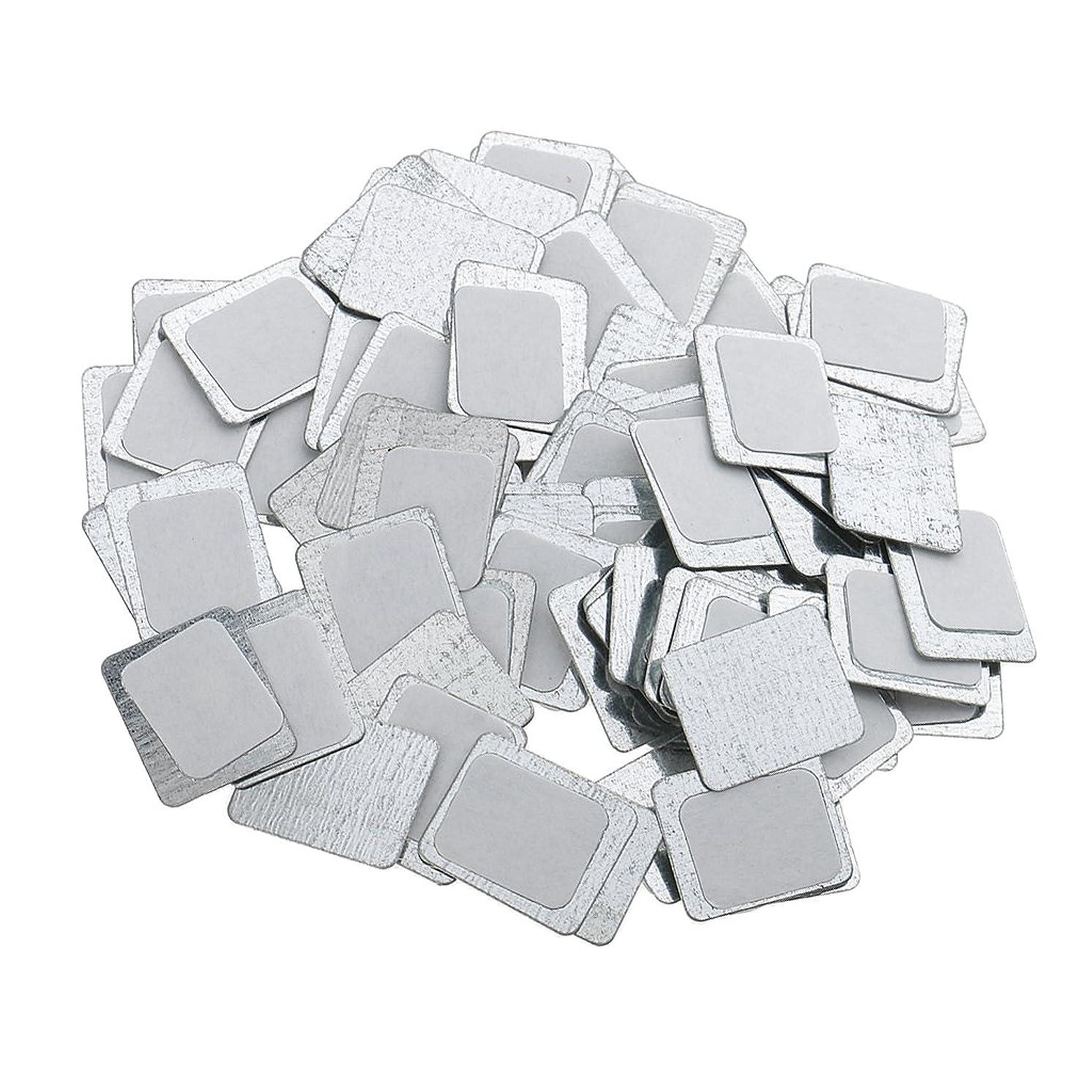 農村容量寮Kesoto 約100個 メイクアップパン 空パン アイシャドー ブラッシュ メイクアップ 磁気パレットボックスケース 2タイプ選べ - スクエア