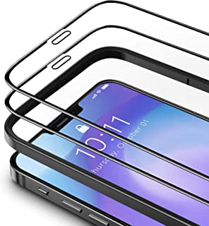 TAMOWA skärmskydd för iPhone 12 (6,7 tum), 2-pack