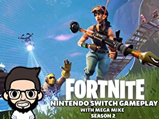 Fortnite Nintendo Switch Gameplay With Mega Mike