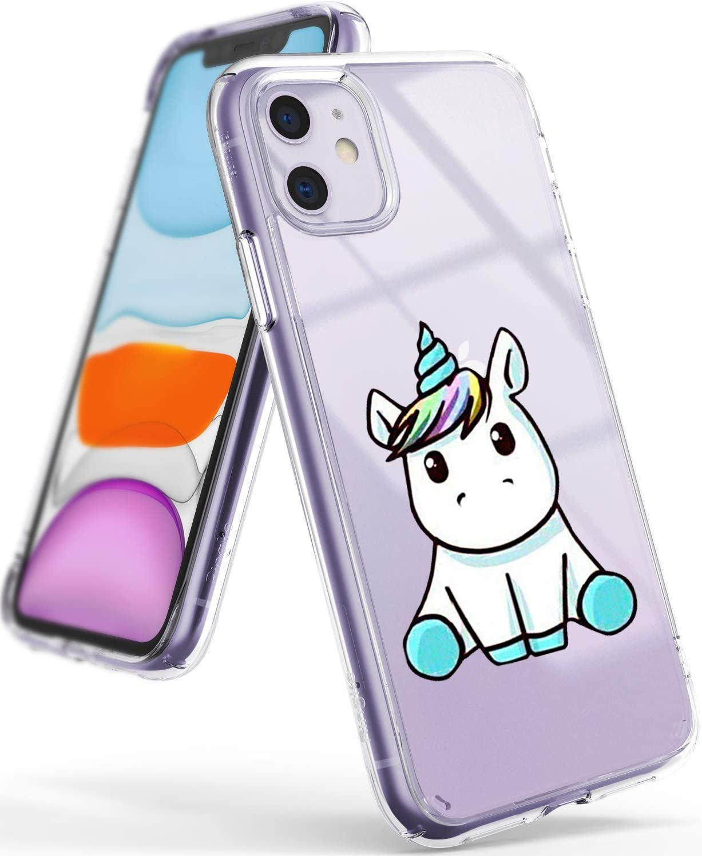 3 Pack Young /& Ming Funda para iPhone 11, Transparente TPU Silicona Carcasa Delgado Antigolpes Resistente Amor