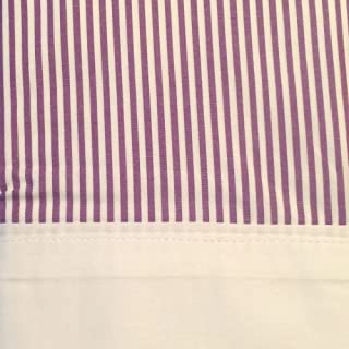 Ralph Lauren Great Compton Fairview Stripe Std. Pillowcases, Purple