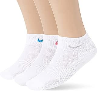 Cotton Cush Quarter 3 Pack Women's Socks Pink/Blue/Grey sx4733-946