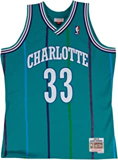 Mitchell & Ness Alonzo Mourning Charlotte Hornets Swingman Jersey Teal