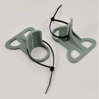 2 Soportes para tuberías de Piscina (2020): Color Gris para Tubos de 30 mm a 37 mm, diseñados para Adaptarse a Piscinas INTEX